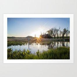 Abandoned: South Dakota 6651 Art Print