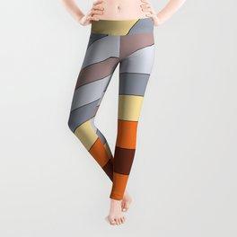 Retro lines 1 Leggings
