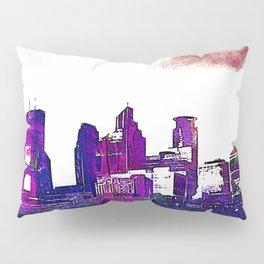 Minneapolis, Minnesota Skyline Pillow Sham