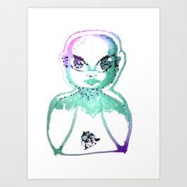 Beauty in Colours Art Print