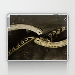 Vintage Shoe Laces Laptop & iPad Skin