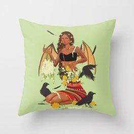 Manananggal Throw Pillow