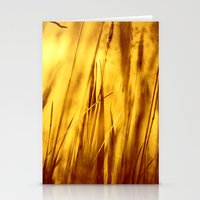 grass Stationery Cards featuring Grass by Fine2art