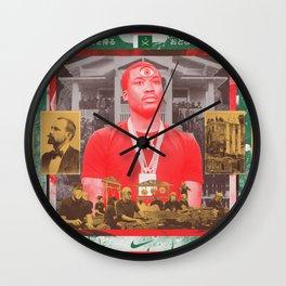 Gamelan Into The Meek Supernatural Wall Clock