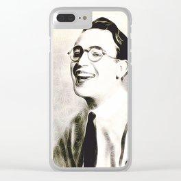 Harold Lloyd, Vintage Actor/Comedian Clear iPhone Case