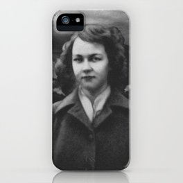 Flannery O'Conner iPhone Case
