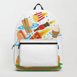 Space Burger Backpack