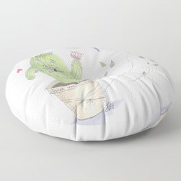 Unconventional Love Floor Pillow
