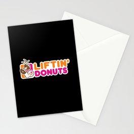 Liftin' Donuts Stationery Cards