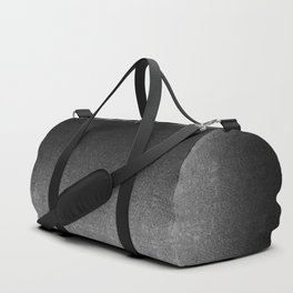 Silver & Black Glitter Gradient Duffle Bag