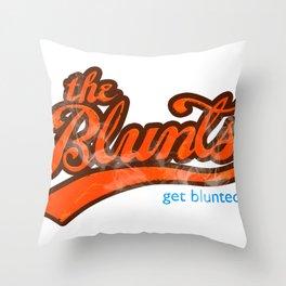 The Blunts Classic Orange Throw Pillow