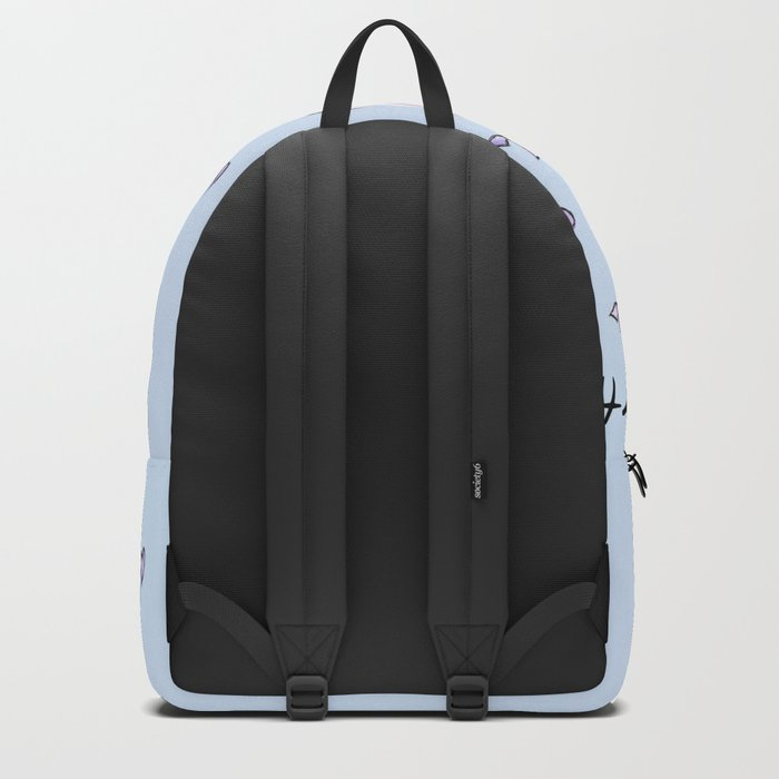 Happy Birthday Unicorn (blue) Backpack