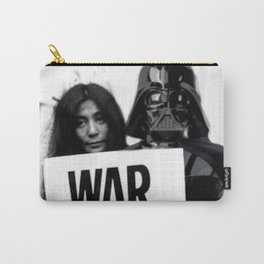 Darth Vader with Yoko Ono Carry-All Pouch