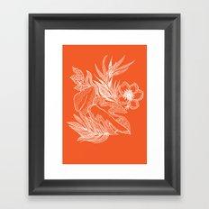 Hawaiian-Spring  Framed Art Print