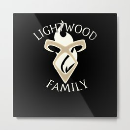 family lightwood Metal Print
