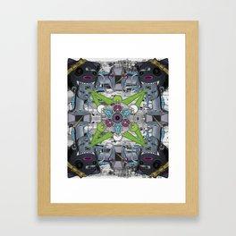 The minipimp - My Hard Drive Weighs A Ton Artwork Framed Art Print