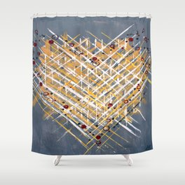 :: You Knit Me Together :: Shower Curtain