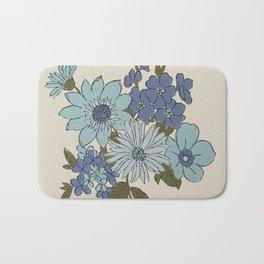 Dorchester Flower 1 Bath Mat