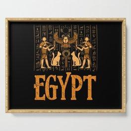 Egypt History Serving Tray