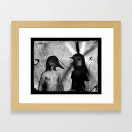 Mercredi 2 Framed Art Print