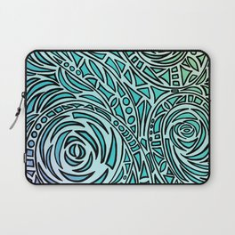 How The River Flows - Faded Laptop Sleeve