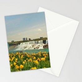 Tulips By The Falls Stationery Cards