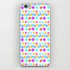 Retro pattern pencil  iPhone & iPod Skin