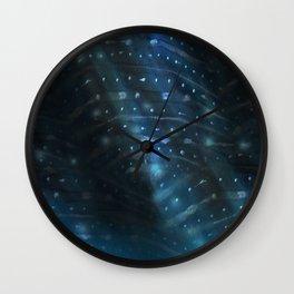 Whale Shark Underwater Wall Clock
