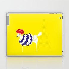 French Poodle Laptop & iPad Skin