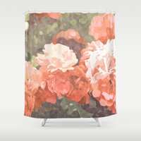 blossom Shower Curtains featuring Blossom by 83 Oranges™