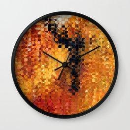 Abstract Modern Art - Pieces 8 - Sharon Cummings Wall Clock