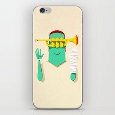 Trumpeter Broken Arm iPhone & iPod Skin