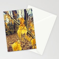 Golden Treasures Stationery Cards