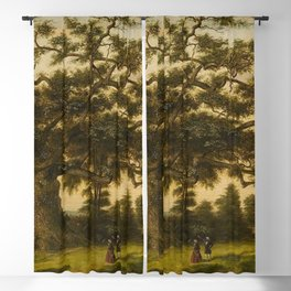 The Charter Oak - Connecticut by Charles De Wolf Brownell Blackout Curtain