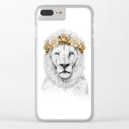 Festival lion (color version) Clear iPhone Case