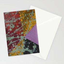 Corner Splatter # 9 Stationery Cards