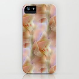 flowers -4- seamless pattern iPhone Case