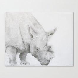 Stop Poaching Canvas Print