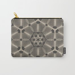 Bank Note Design Carry-All Pouch