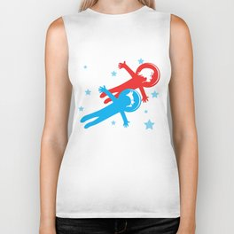 Children in space Biker Tank