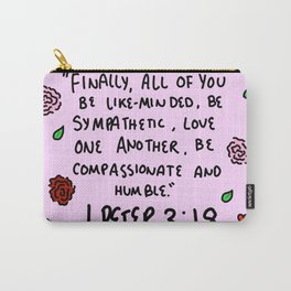 1 Peter 3:18 Carry-All Pouch