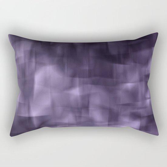 Purple abstract painting. Rectangular Pillow