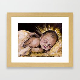 The Light has been born Framed Art Print