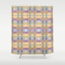 Windows cream Shower Curtain