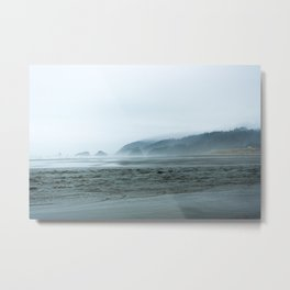 Oregon Winter Metal Print