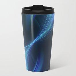 Blue Pulsar Travel Mug