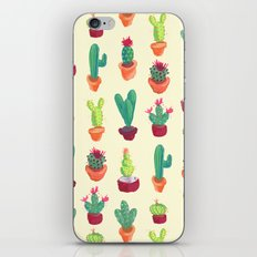 Cacti Pattern iPhone & iPod Skin