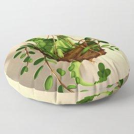 Succulent dragon Floor Pillow