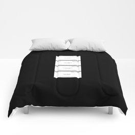 American Psycho Business Cards Comforters