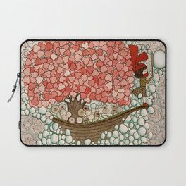 Bubble Waves Laptop Sleeve